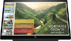 "HP EliteDisplay S14 - Portabler Monitor (14 "", Full-HD, 60 Hz, Schwarz)"