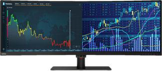 "LENOVO ThinkVision P44w-10 - Monitore (43.4 "", UHD 4K, Nero)"