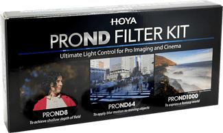 HOYA PROND Filter Kit 72mm - Kit filtre (Noir)
