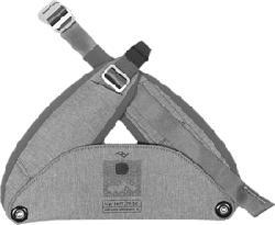 PEAK DESIGN Everyday Hip Belt V2 medium - Hüftgurt (Aschgrau)