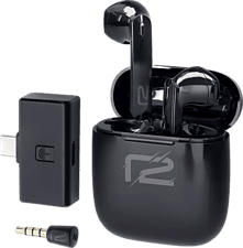 R2 NSW V2 - True Wireless Kopfhörer (Schwarz)
