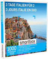SMARTBOX 3 jours Italie en duo - Coffret cadeau