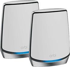 NETGEAR ORBI RBK852-100EUS AX6000 - Wi-Fi Mesh System (Blanc/Gris)