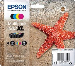 EPSON T03A64010 - 603 XL - Cartouche d'encre (Cyan/Magenta/Jaune/Noir)