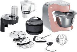 BOSCH MUM58NP60 - Robot culinaire (Rose/Argent)
