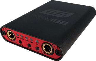 ESI UGM192 - Interface audio USB (Noir/Rouge)