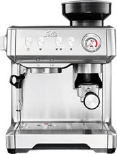 SOLIS 980.08 1018 Grind & Infuse Compact - Machine á expresso (Argent)