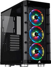 CORSAIR iCUE 465X RGB Mid-Tower ATX Smart Case - PC Gehäuse (Schwarz)