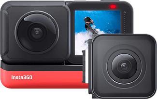 INSTA360 One R Twin - Actioncam (Fotoauflösung: 12 MP) Schwarz