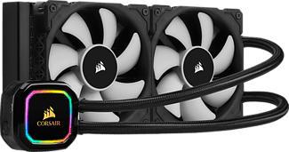 CORSAIR iCUE H100i RGB PRO XT CPU - CPU Wasserkühler (Schwarz)