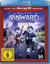 Onward - Keine halben Sachen (3D+2D+Bonus) 3D Blu-ray (+2D) (Blu-ray 3D: Deutsch, Englisch / Blu-ray 2D: Deutsch, Italienisch, Englisch)