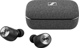SENNHEISER Momentum - True Wireless Kopfhörer (In-ear, Schwarz)