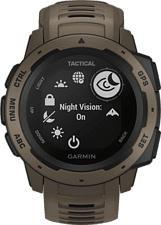 GARMIN Instinct Tactical Edition - GPS-Smartwatch (Hellbraun/Schwarz)