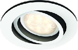 PHILIPS Hue White Ambiance Milliskin - Einbau-Spot-Lampe/Deckenlampe (Silber/Weiss)