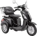 MediaMarkt LUXXON E3800 - Elektro-Dreirad-Roller (Schwarz)