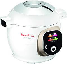 MOULINEX Cookeo+ - Multicooker (Bianco/Cromo)
