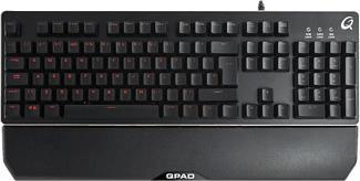 QPAD MK-40 Pro - Tastiera gaming (Nero)