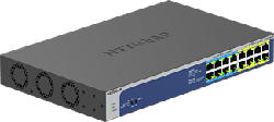 NETGEAR GS516UP - Switch (Grau/Blau)