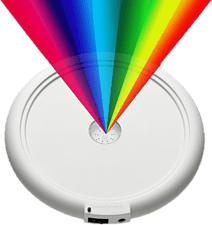 GOODSPHERE G1262 - LED-Farbuntersatz zu Revitalizer Classic (Weiss)