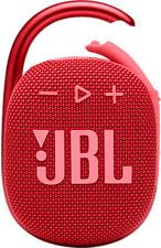 JBL Clip 4 - Altoparlante Bluetooth (Rosso)