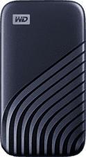 WESTERN DIGITAL My Passport (2020) - Disque dur (SSD, 500 GB, Bleu)
