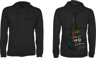 "GAYA Call of Duty: Cold War Zipper Hoodie ""Protect"" - Sweat (Noir)"