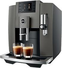 JURA Kaffeevollautomat E8 Dark Inox SB