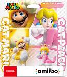 MediaMarkt NINTENDO amiibo Cat Mario & Cat Peach (Super Mario) Figura del gioco