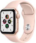 MediaMarkt APPLE Watch SE (GPS) 40 mm - Smartwatch (130 - 200 mm, Fluorelastomer, Gold/Sandrosa)