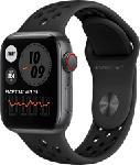 MediaMarkt APPLE Watch Nike SE (GPS + Cellular) 40 mm - Smartwatch (130 - 200 mm, Fluorelastomer, Space Grau/Anthrazit/Schwarz)
