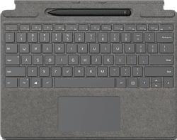 MICROSOFT Surface Pro X Signature Keyboard + Slim Pen - Tastiera e penna digitale (Platino)