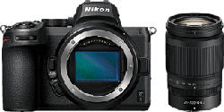 NIKON Z 5 Body + NIKKOR Z 24-200mm f/4-6.3 VR - Systemkamera (Fotoauflösung: 24.3 MP) Schwarz
