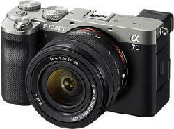 SONY Alpha 7C Body + FE 28-60 mm F4-5.6 - Appareil photo à objectif interchangeable (Résolution photo effective: 24.2 MP) Argent