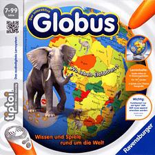 RAVENSBURGER tiptoi: Der interaktive Globus /D - Gesellschaftsspiel (Mehrfarbig)