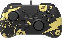 HORI Pokémon: Pikachu Black & Gold - Controller (Schwarz, Gold)