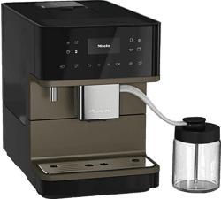 MIELE CM 6360 MilkPerfection - Kaffeevollautomat (Obsidianschwarz/BronzePearlFinish)