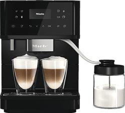 MIELE CM 6560 MilkPerfection - Machine à café automatiqu (Noir obsidien/PearlFinish)
