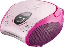 LENCO SCD-24 - Radio portatile (Rosa)
