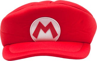 "DIFUZED ""Super Mario"" Kids Hat - Casquette (Rouge/Blanc)"