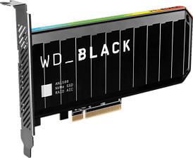 WESTERN DIGITAL BLACK AN1500 NVMe (PCIe 3.0 x8) - Disque dur (SSD, 4 TB, Noir)