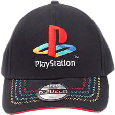 DIFUZED PlayStation: Retro Logo - Kappe (Schwarz)