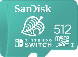 SANDISK  microSDXC Card for Nintendo Switch - Scheda di memoria Micro SDXC (Blu)