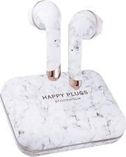 HAPPY PLUGS Air 1 Plus Earbud - Auricolari True Wireless (In-ear, Weiss/Marmo)