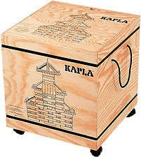 KAPLA Cofre 1000 - Blocchi di costruzione (Marrone)