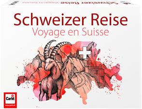 CARLIT Schweizer Reise - Gesellschaftsspiel (Mehrfarbig)