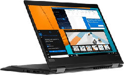 "LENOVO ThinkPad X13 Yoga Gen 1 - Convertible 2 in 1 Laptop (13.3 "", 256 GB SSD, Schwarz)"