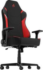 NITRO CONCEPTS X1000 - Gaming-Stuhl (Schwarz/Rot)
