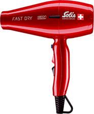 SOLIS 381 Fast Dry - Haartrockner (Rot)
