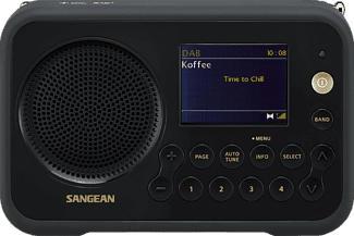 SANGEAN DPR-76 - Digital-Radio (DAB, DAB+, FM, Schwarz)