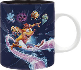 ABYSSE CORP Crash Bandicoot 4 - It's About Time - Tazza (Multicolore)